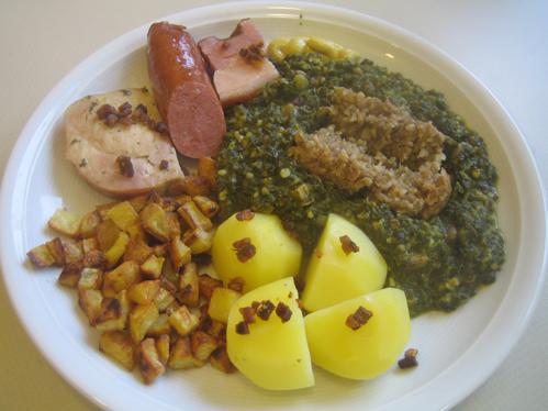 Grünkohl Bremer Art, wie ihn Mutter kochte