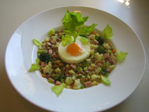 Dinkel-Gemüse-Eintopf