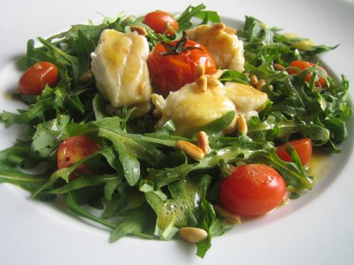 seeteufel rucola salat chefkoch schrats rezept. Black Bedroom Furniture Sets. Home Design Ideas