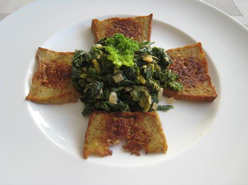 Pinkel-Potthucke als Beilage zu Grünkohl
