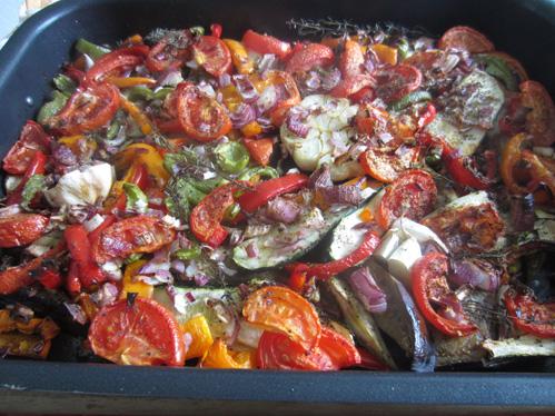 Ratatouille – eine mediterrane Gemüsepfanne
