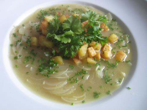 Zwiebelsuppe (Variationen)