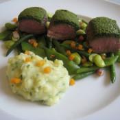 Kräuterkruste für Steaks von Rind, Lamm und Wild