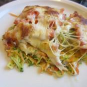 Pasta-Gemüse-Auflauf mit Mozzarella
