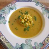 Schrats pikante Maissuppe