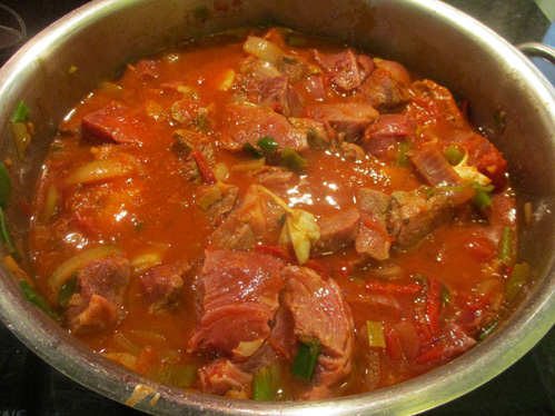 Falsches Filet Gulasch