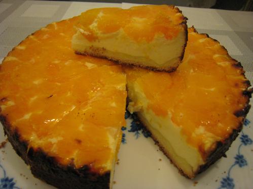Mandarinen-Käsekuchen