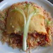 Reis-Tomaten-Auflauf