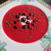Rote-Bete-Ingwer-Suppe